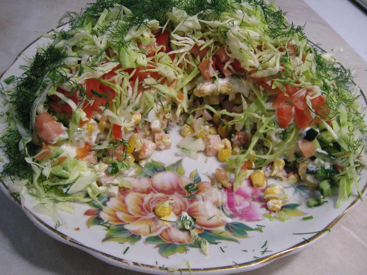 Вы хотите узнать, как качественно приготовить рецепт Салат Меркурий  состав, пошаговые фото, порядок приготовления, советы, похожие салаты, комментарии