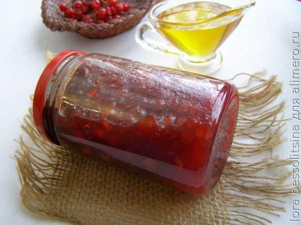 Варенье из калины на зиму: простые рецепты с фото пошагово