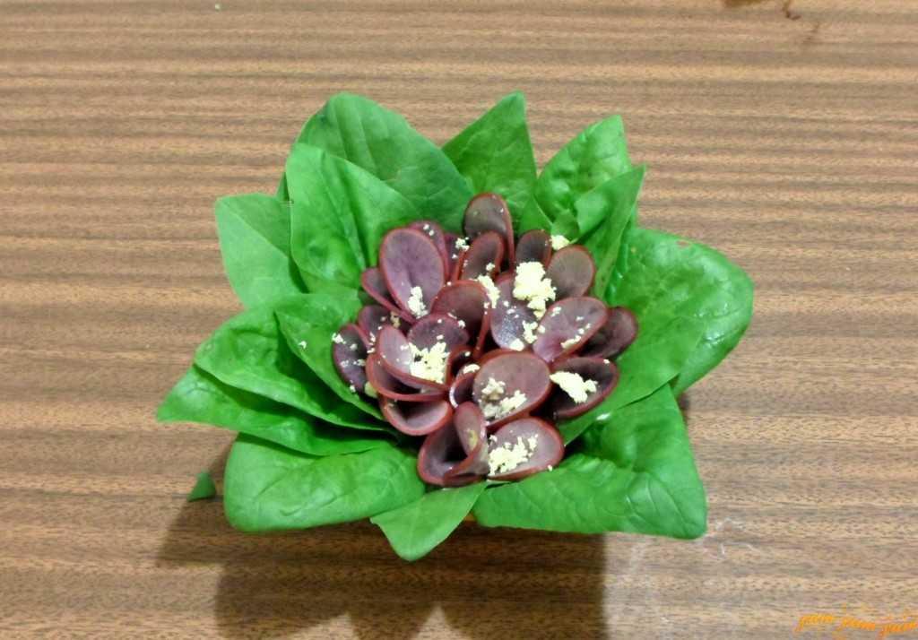 Салат «фиалка» - пошаговый рецепт с фото |  салаты
