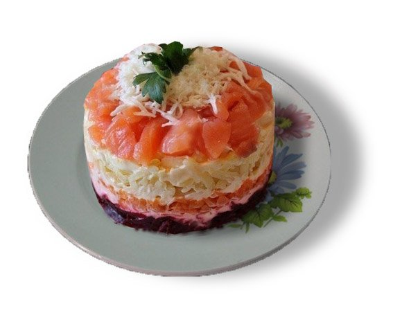 Салат с авокадо и красной рыбой — 10+ лучших рецептов с фото