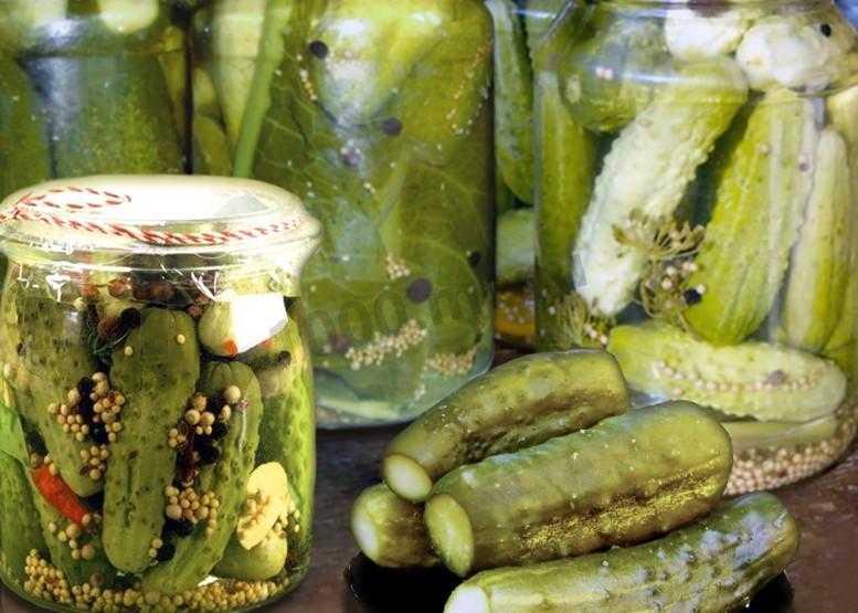Вкусные маринованные огурцы по-болгарски на зиму: лучшие рецепты. консервирование огурцов по-болгарски ассорти с помидорами, кабачками, с лимонной кислотой, семенами горчицы, красной смородиной резанные в литровых банках: рецепты