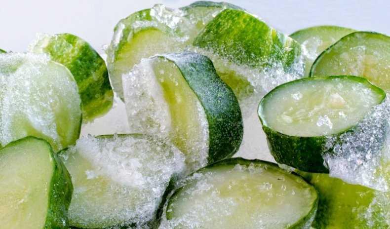 Как правильно заморозить огурцы на зиму в морозилке: 6 способов заморозки » сусеки