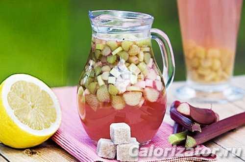 Компот из ревеня: рецепты приготовления, условия хранения в банке. Варианты блюда с мятой, яблоками, клубникой, цитрусовыми и корицей.
