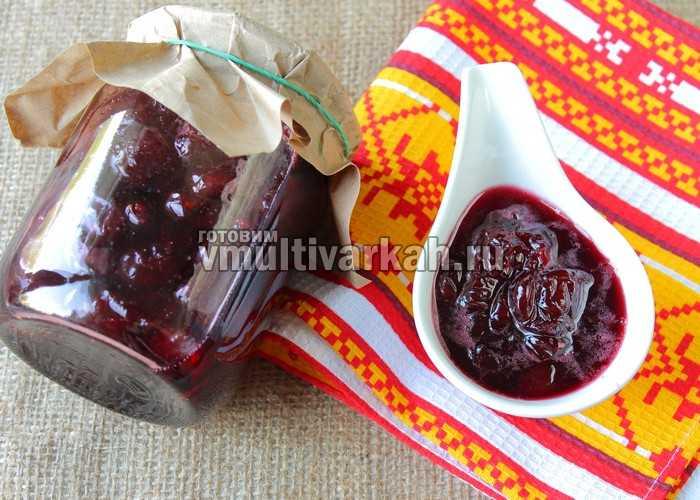 Варенье из вишни – минимум мороки, максимум удовольствия и пользы