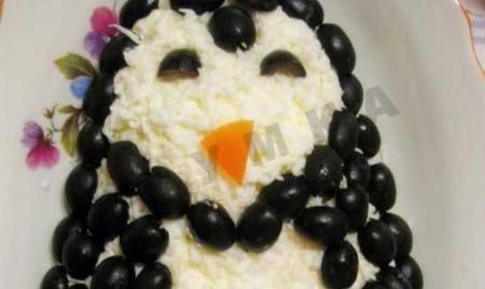 Салат пингвины на льдине рецепт - вкусные деликатесы стран мира