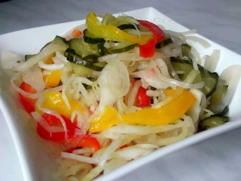 Венгерский салат на зиму: рецепт с описанием и фото, особенности приготовления - samchef.ru