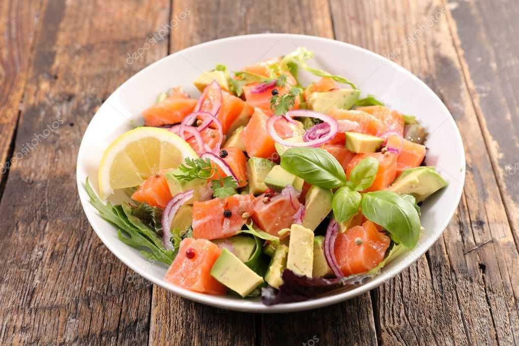Рецепты салат с креветками и грейпфрутом