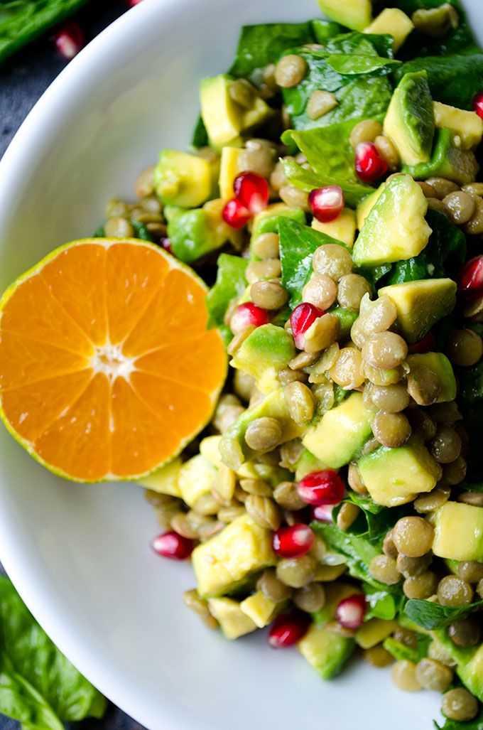 Блюда из зеленой чечевицы