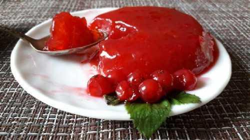 Пошаговые рецепты желе из красной смородины на зиму, без варки, с сахаром + видео