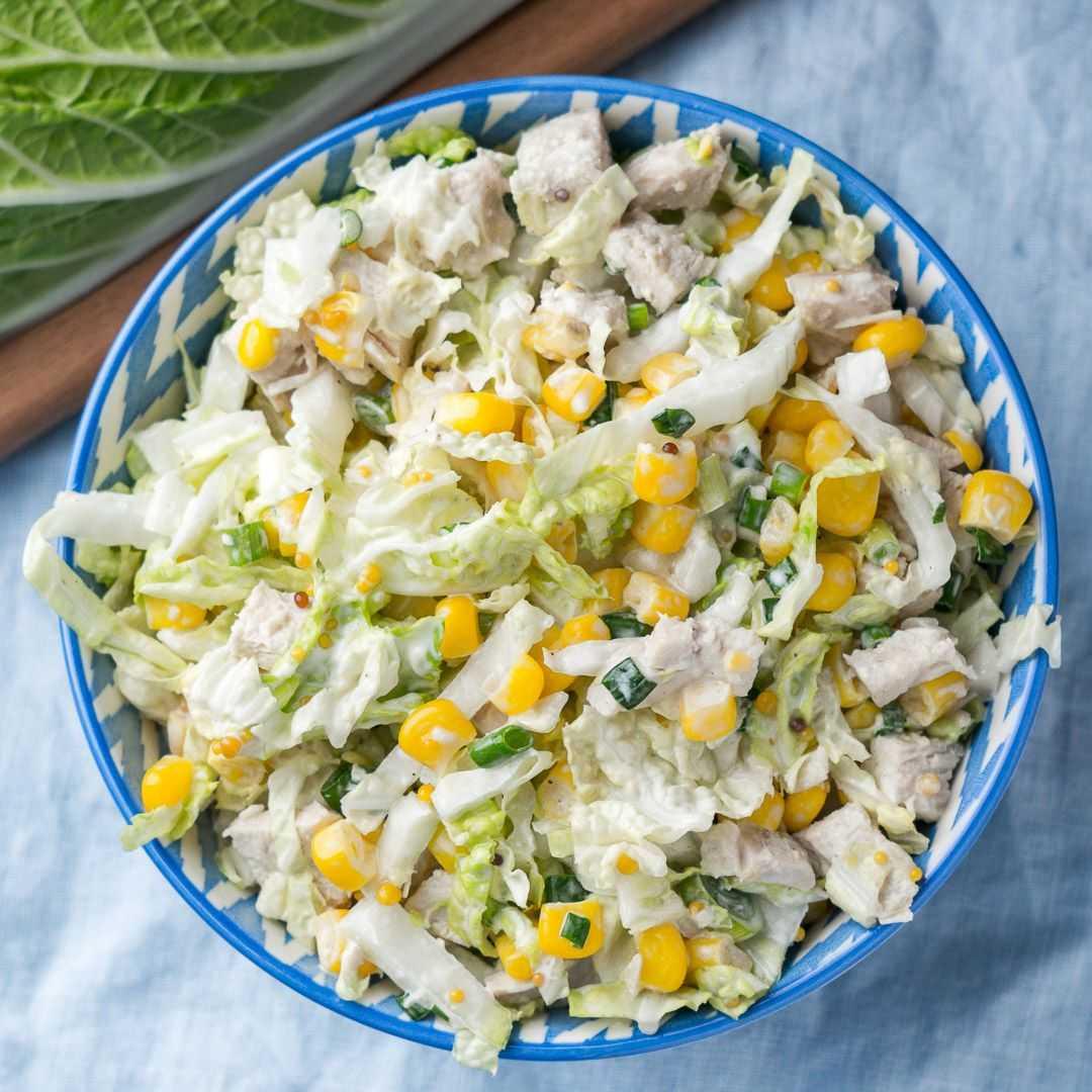 Салат с китайской капустой и курицей - 111 рецептов: салаты   foodini