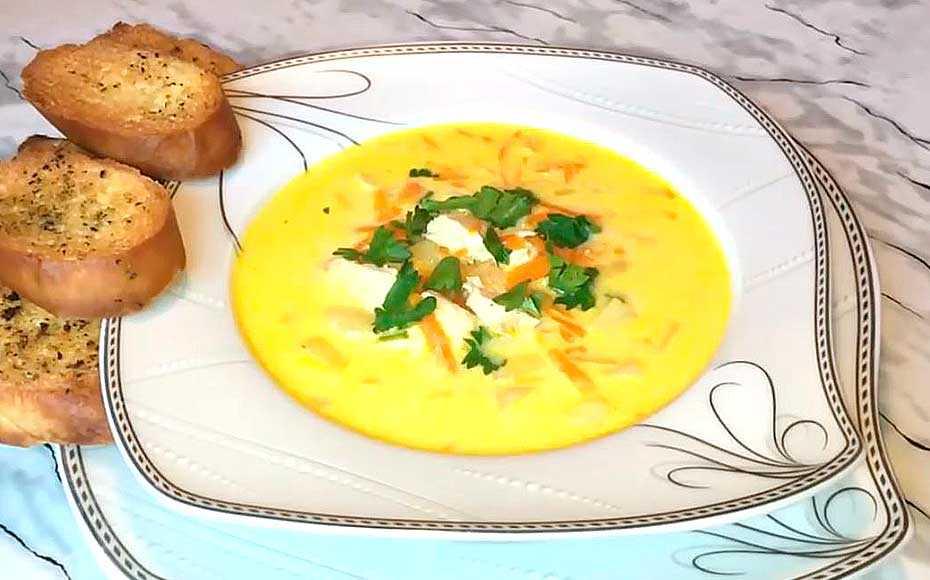 Сырный суп – вкуснейший классический рецепт приготовления