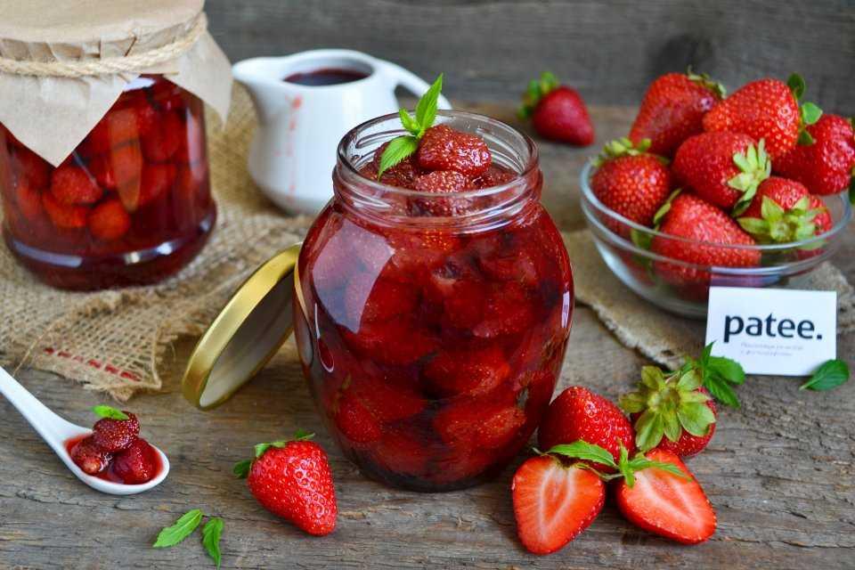 Варенье из клубники: рецепт в мультиварке и не только, пятиминутка, из замороженной ягоды