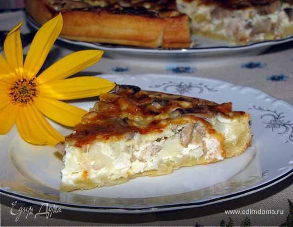 Слоенный пирог с грибами: топ-4 рецепта