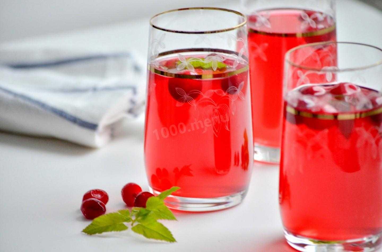 Клюквенный морс: рецепт из замороженных ягод (пошагово, с фото)