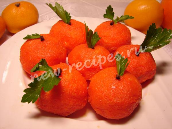 Салат с мандаринами и сыром рецепт с фото фоторецепт.ru