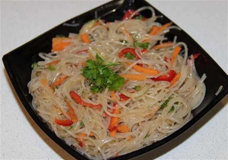 Острый салат из рыбы по-корейски рецепт с фото пошагово - 1000.menu