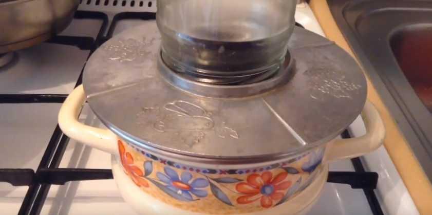Стерилизация банок в газовой духовке