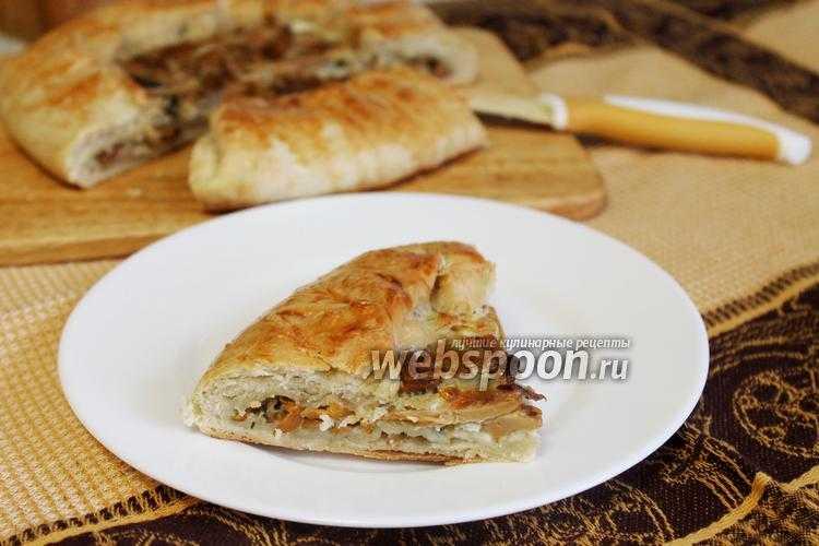 """Песочный пирог с лисичкамипесочный пирог """" ароматный"""" с лисичками, сыром и луком"""