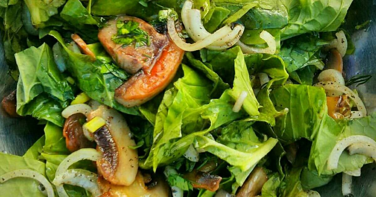 Салаты с шампиньонами - 20 простых и вкусных рецептов