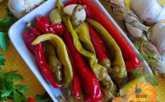 Маринованный красный перец по-армянски на зиму - 11 пошаговых фото в рецепте