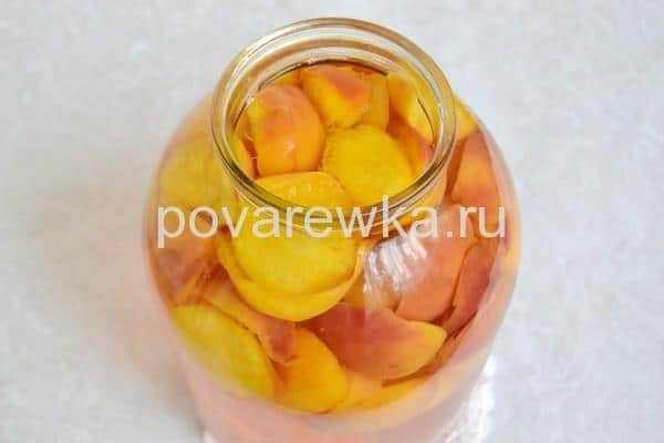 Компот из персиков на зиму: простые рецепты заготовки