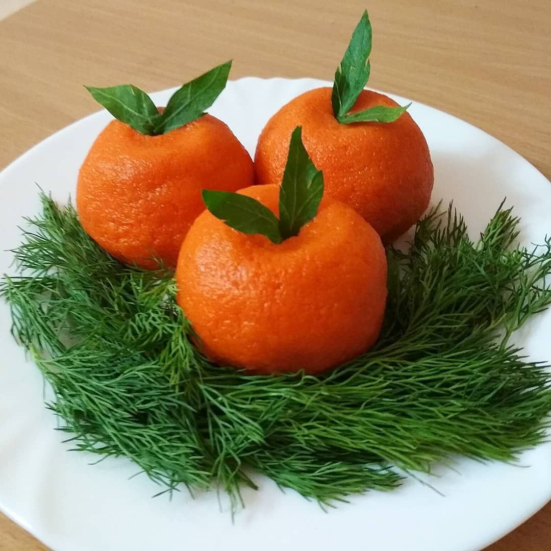 Сырная закуска «мандарины»: рецепт