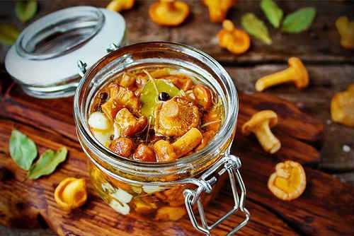 Грибная икра из лисичек на зиму: простые рецепты приготовления грибов, измельченных мясорубкой или блендером