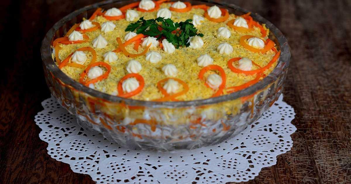 Салат бунито - 7 рецептов с корейской морковкой, с фото