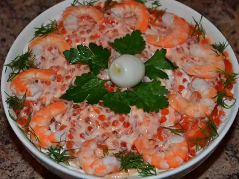 """Салат """"морской бриз"""" рецепт с фото пошагово - 1000.menu"""