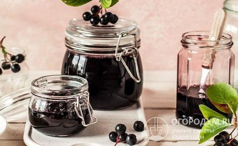 Варенье из черноплодной рябины с апельсином: 5 рецептов приготовления на зиму