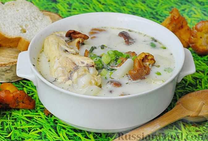 Как вкусно приготовить грибной суп с лисичками