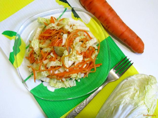 Салат с пекинской капустой и ветчиной: рецепты