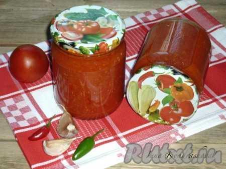Аджика с хреном: популярные рецепты с фото