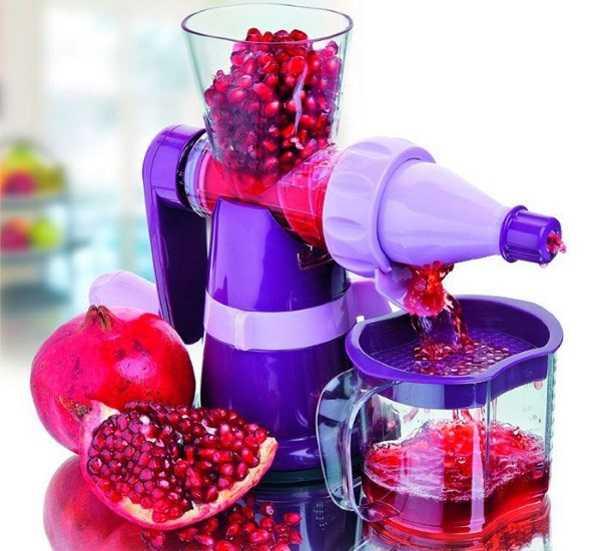 Как выжать сок из граната в домашних условиях вручную и в соковыжималке: способы. как правильно выдавить сок из граната без соковыжималки: способы, описание, видео