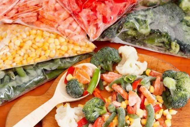 Заморозка овощей на зиму в домашних условиях: какие овощи можно замораживать на зиму?