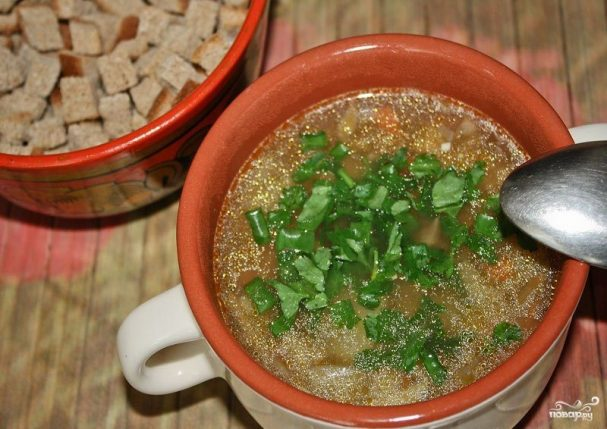 Грибной суп-пюре из белых грибов-рецепт из сушеных и свежих или замороженных