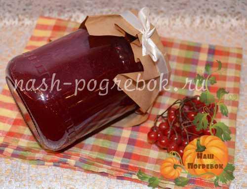 Консервированная калина. чай с калиной: полезные свойства, рецепт. как сделать желе из калины