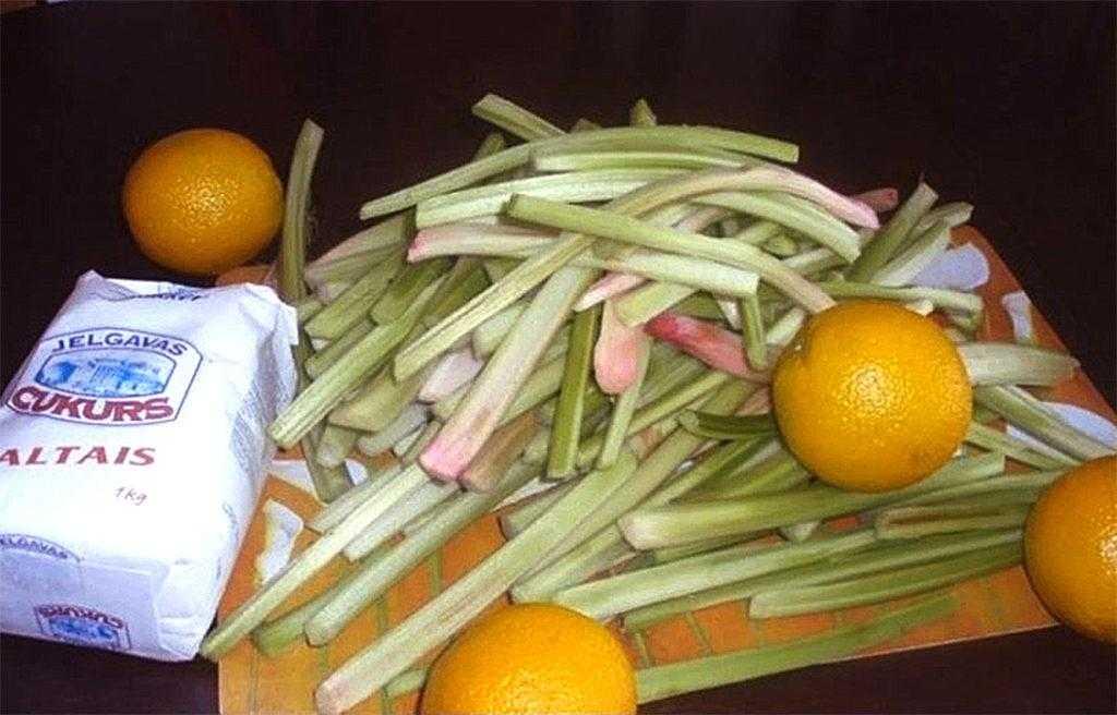 Варенье из ревеня: 15 вкусных рецептов приготовления: с апельсином, лимоном, имбирем, яблоками, бананами, простые, с жимолостью, без варки