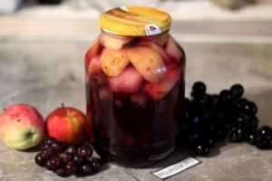 Компот из винограда кишмиш на зиму: рецепты приготовления.