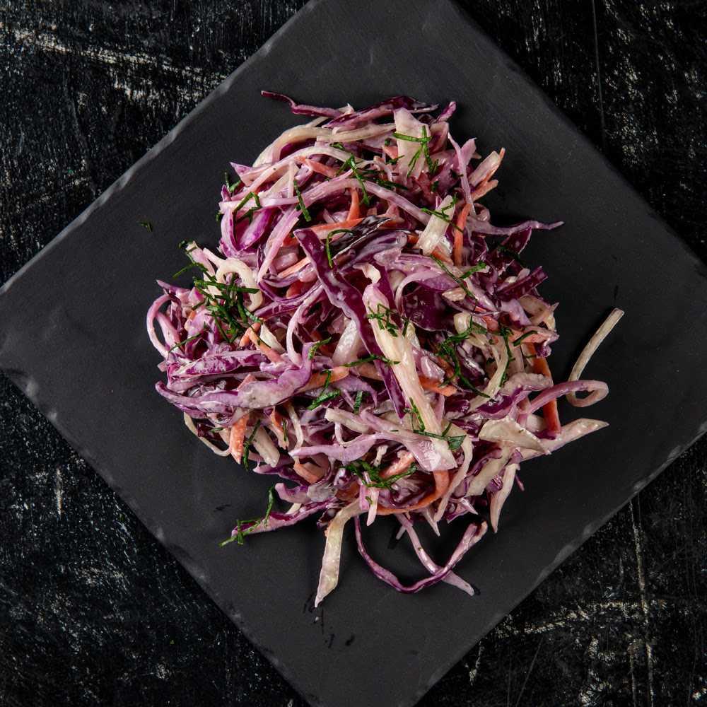 Салаты изкрасной капусты: 12рецептов пошагово суксусом, майонезом имаслом
