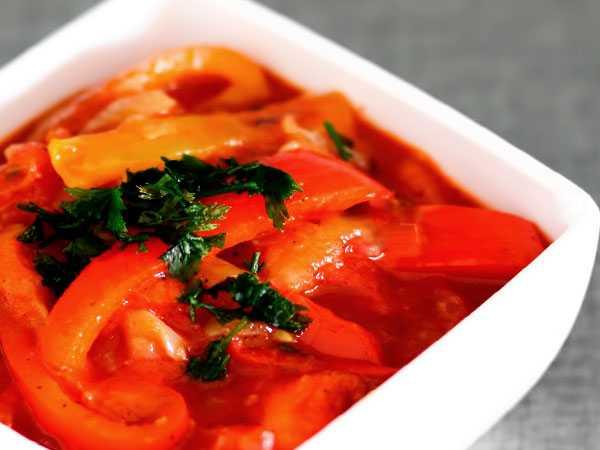 Лечо из болгарского перца пальчики оближешь на зиму 10 рецептов - 1000.menu