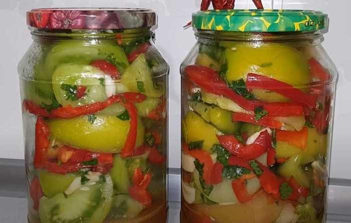 Армянчики из зеленых помидор - рецепт