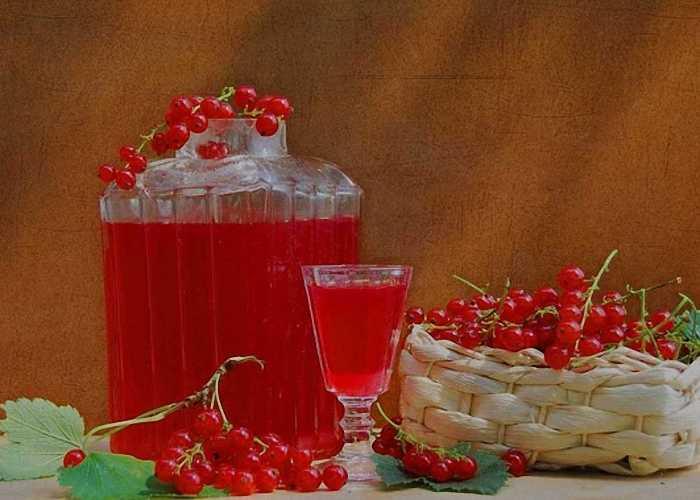 Настойка из красной смородины - 5 рецептов на любой вкус