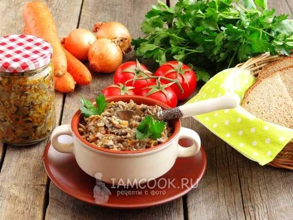 Грибная икра из вареных грибов - самый вкусный рецепт с фото