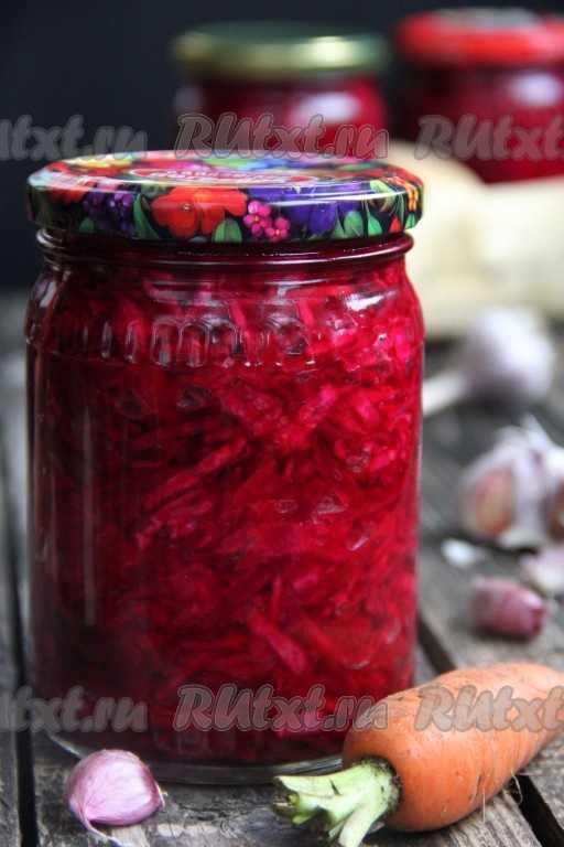 Квашеная капуста со свеклой - 12 пошаговых фото в рецепте
