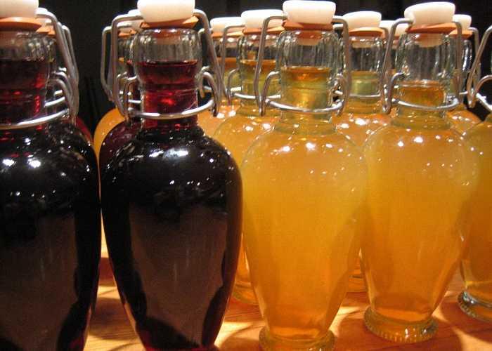 Необычно вкусное вино из персиков