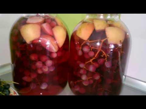 Компот из винограда: 7 рецептов приготовления