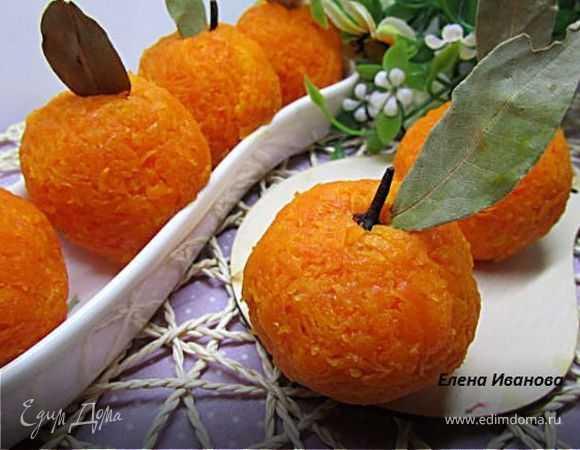 """Сырная закуска """"мандарины"""": рецепт"""