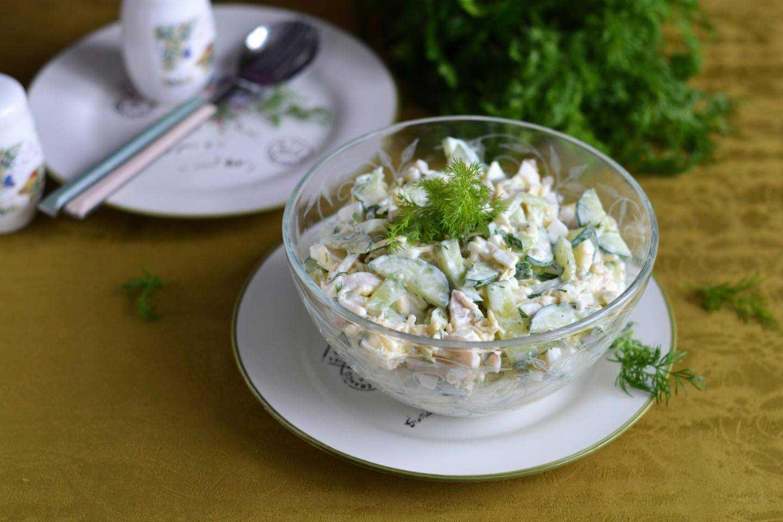 Салаты с кальмарами: 8 самых вкусных и простых рецептов - будет вкусно! - медиаплатформа миртесен
