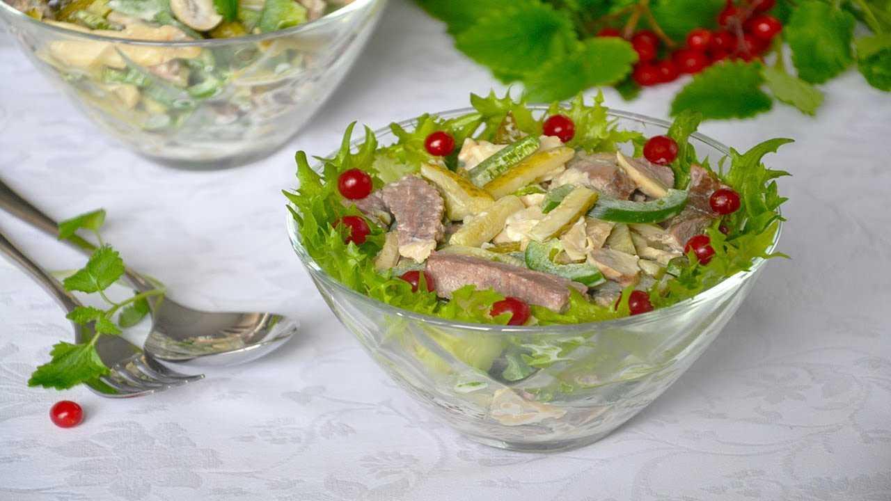 6 рецептов салата король — на праздничный стол